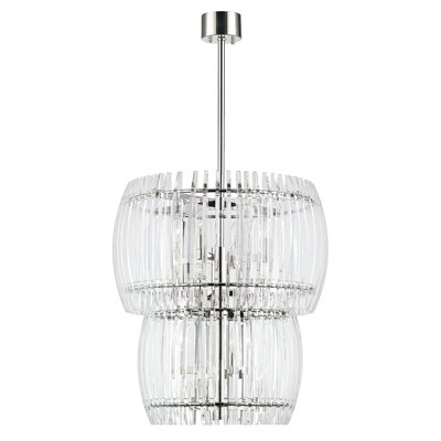 Woodham 16-Light Crystal Pendant
