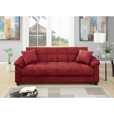 Law-Simmonds Adjustable Sofa Finish: Red