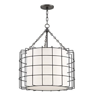 Tahlequah 3-Light Drum Pendant Finish: Old Bronze
