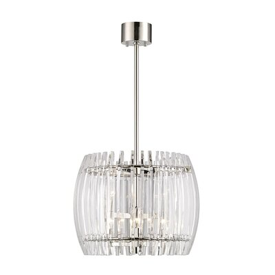 Woodham 6-Light Crystal Pendant