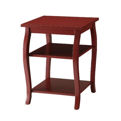 Jusino 2-Shelf End Table
