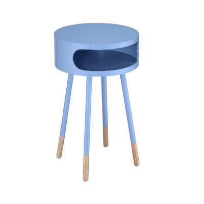 Meagher End Table Color: Light Blue