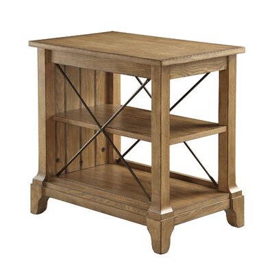 Henton 3-Tier End Table with Storage