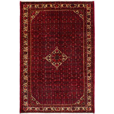 One-of-a-Kind Goodyear Hand-Knotted Wool Red Area Rug