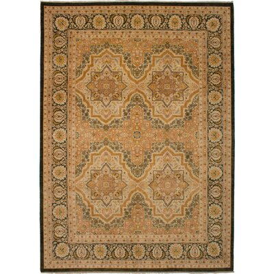 One-of-a-Kind Joule Hand-Knotted Wool Copper Area Rug