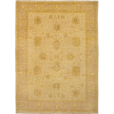 One-of-a-Kind Joule Hand-Knotted Wool Cream Area Rug
