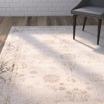 Gillmore Stone Area Rug Rug Size: Rectangle 53 x 76