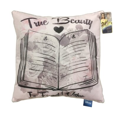 Disney Beauty & the Beast True Beauty is Found Throw Pillow
