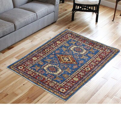 One-of-a-Kind Tilomar Super Oriental Hand-Knotted Area Rug Rug Size: Rectangle 3'3