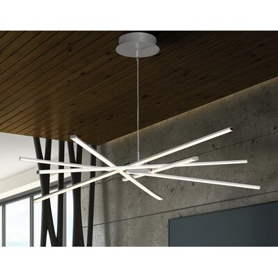 Willman 1-Light LED Geometric Pendant