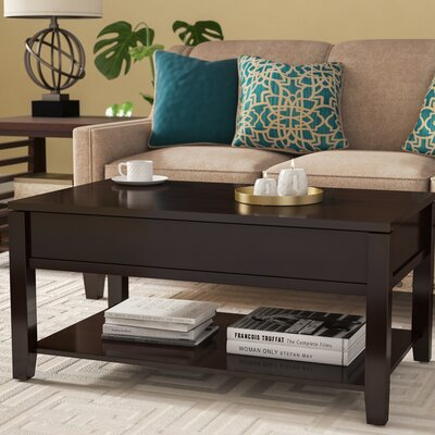 Sophocles Coffee Table with Lift Top