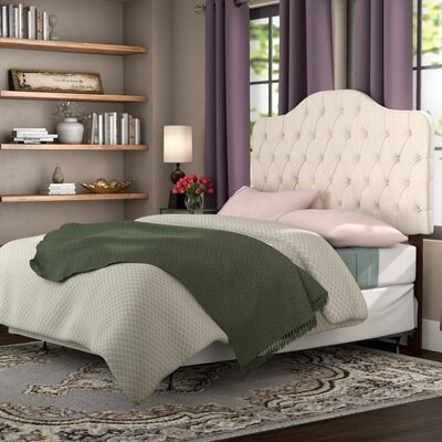 Simmers Upholstered Panel Bed Size: Full/Queen