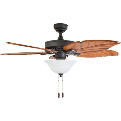 52 Jefferson 5 Blade LED Ceiling Fan Accessories: Standard No Remote