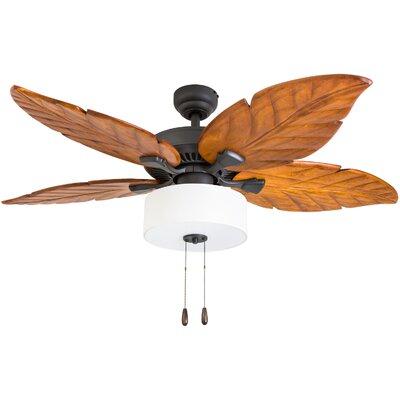 52 Bellwether 5 Blade LED Ceiling Fan Accessories: Standard No Remote