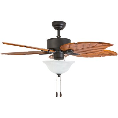 52 Stedman 5 Blade LED Ceiling Fan Accessories: Standard No Remote