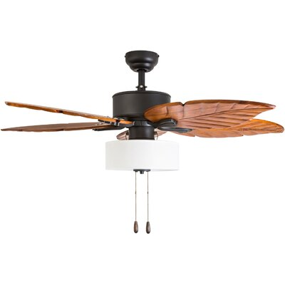 52 Everetts 5 Blade LED Ceiling Fan Accessories: Standard No Remote