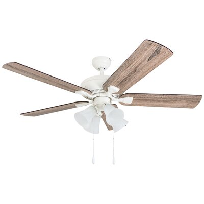 52 Tyntesfield 5 Blade Ceiling Fan Accessories: Standard No Remote