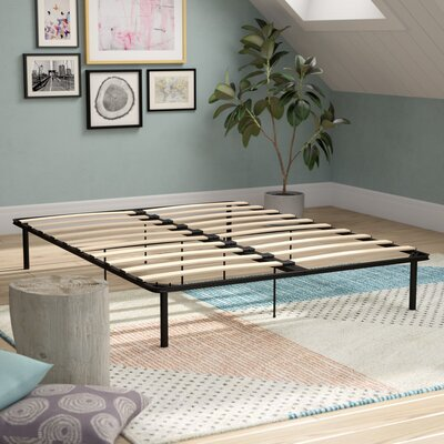 Platform Bed with Euro Wood Slats Size: Queen