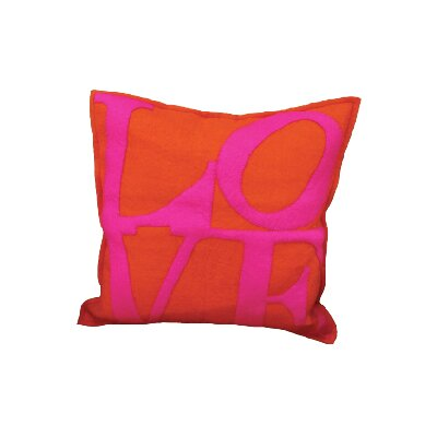 Maresca Love Wool Throw Pillow