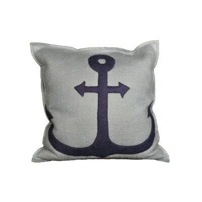 Nebel Anchor Wool Throw Pillow