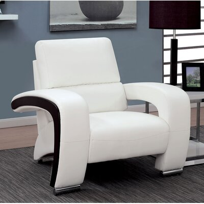 Winbush Armchair Finish: White