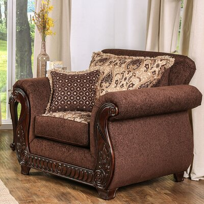 Chateau Armchair Finish: Brown