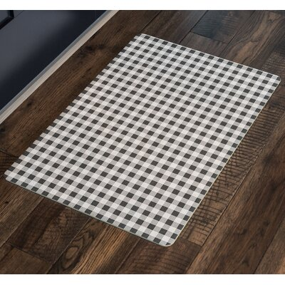 Leslie Harding Indoor/Outdoor Doormat Mat Size: Rectangle 16 x 23, Color: Gray