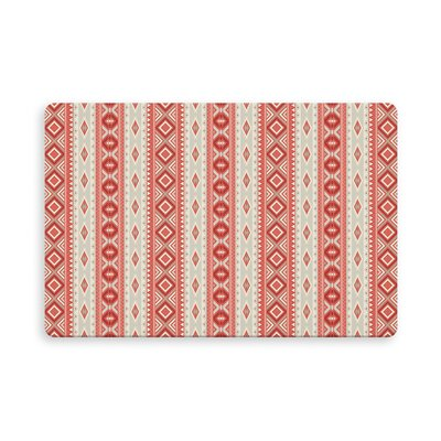 Tillery Indoor/Outdoor Doormat Mat Size: Rectangle 16 x 23, Color: Red