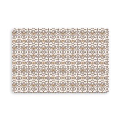 Gosnells Indoor/Outdoor Doormat Mat Size: Rectangle 16 x 23, Color: Gold