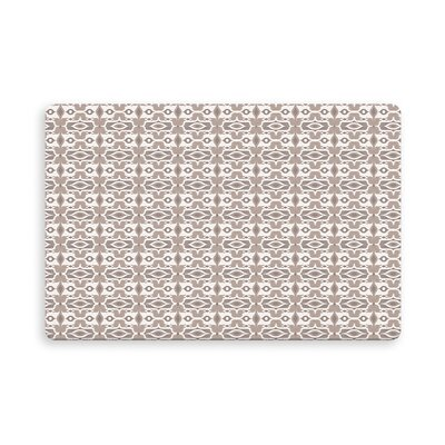 Gosnells Indoor/Outdoor Doormat Mat Size: Rectangle 26 x 42, Color: Ivory