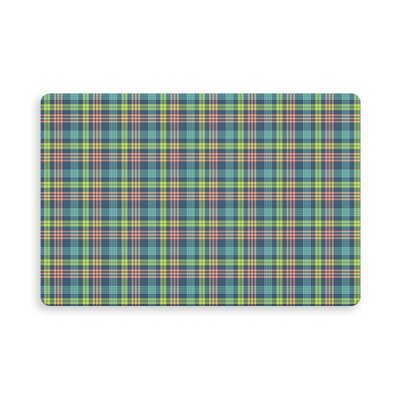 Truxton Holthaus Plaid Indoor/Outdoor Doormat Mat Size: Rectangle 16 x 23