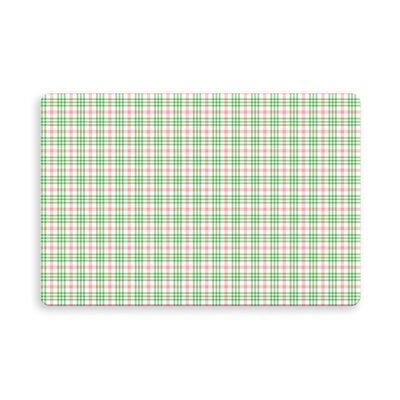 Pascual Botelho Plaid Indoor/Outdoor Doormat Mat Size: Rectangle 16 x 23