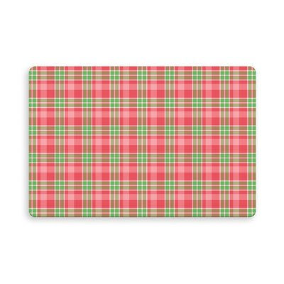 Pascual Botelho Plaid Indoor/Outdoor Doormat Mat Size: Rectangle 16 x 23