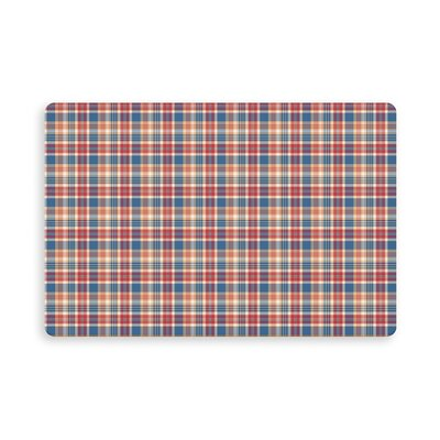 Hogan Rosner Plaid Indoor/Outdoor Doormat Mat Size: Rectangle 16 x 23