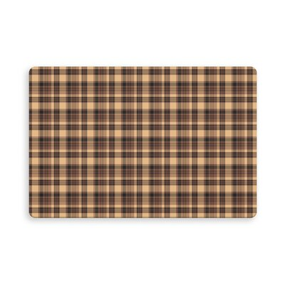 Hogan Rosner Plaid Indoor/Outdoor Doormat Mat Size: Rectangle 26 x 42