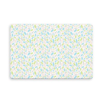 Hilley Indoor/Outdoor Doormat Mat Size: Rectangle 26 x 42, Color: Pink/Green