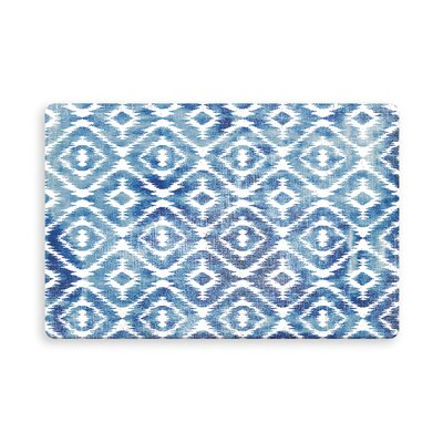 Laplant Medlock Indoor/Outdoor Doormat Mat Size: Rectangle 26 x 42, Color: Blue