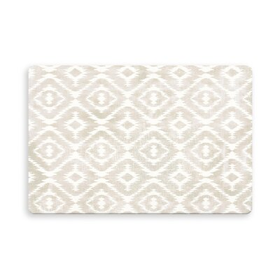 Laplant Medlock Indoor/Outdoor Doormat Mat Size: Rectangle 16 x 23, Color: Ivory