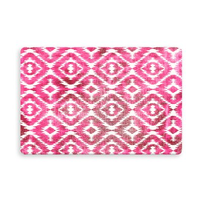 Laplant Medlock Indoor/Outdoor Doormat Mat Size: Rectangle 26 x 42, Color: Pink