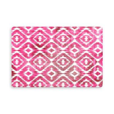 Laplant Medlock Indoor/Outdoor Doormat Mat Size: Rectangle 16 x 23, Color: Pink