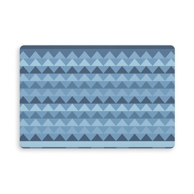Gavin Manske Indoor/Outdoor Doormat Mat Size: Rectangle 16 x 23, Color: Blue