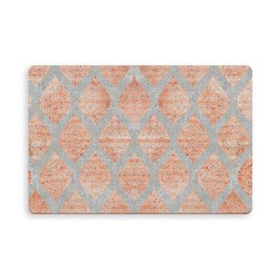 Reichenbach Indoor/Outdoor Doormat Mat Size: Rectangle 16 x 23, Color: Orange/Gray