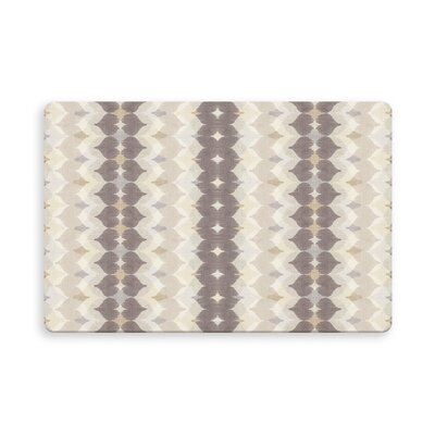Hallock Chevron Motion Indoor/Outdoor Doormat Mat Size: Rectangle 16 x 23