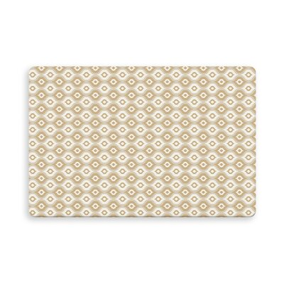 Underhill Demartino Indoor/Outdoor Doormat Mat Size: Rectangle 16 x 23, Color: Gold