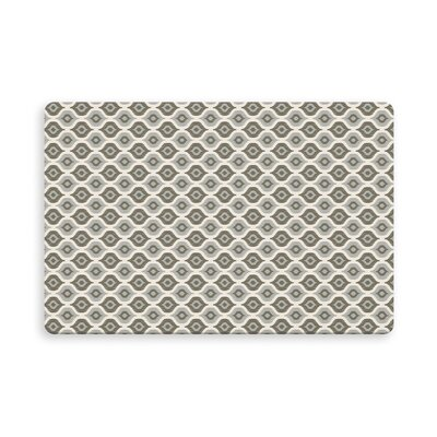 Underhill Demartino Indoor/Outdoor Doormat Mat Size: Rectangle 16 x 23, Color: Gray