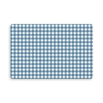 Leslie Harding Indoor/Outdoor Doormat Mat Size: Rectangle 16 x 23, Color: Blue