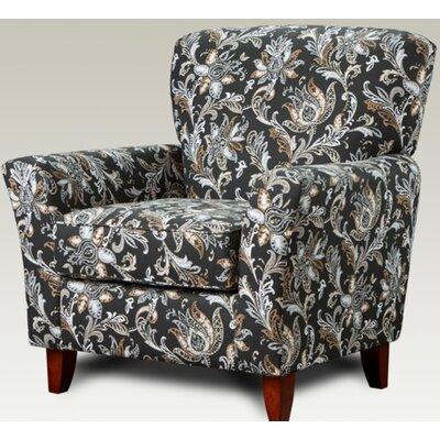 Verduzco Armchair Upholstery: Floral Gray/Brown