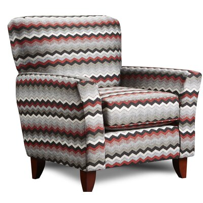 Verduzco Armchair Upholstery: Bistro Red
