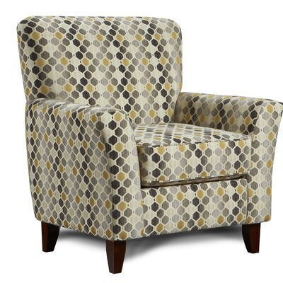 Verduzco Armchair Upholstery: Benda Canary Yellow