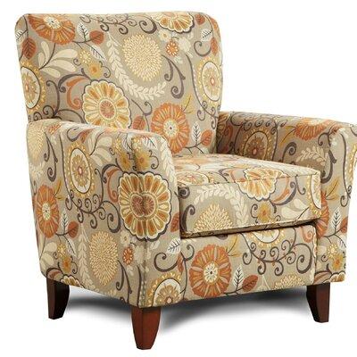 Verduzco Armchair Upholstery: Bellvue Yellow